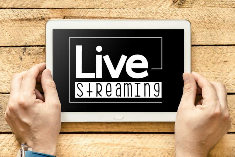Livestream Veranstaltung
