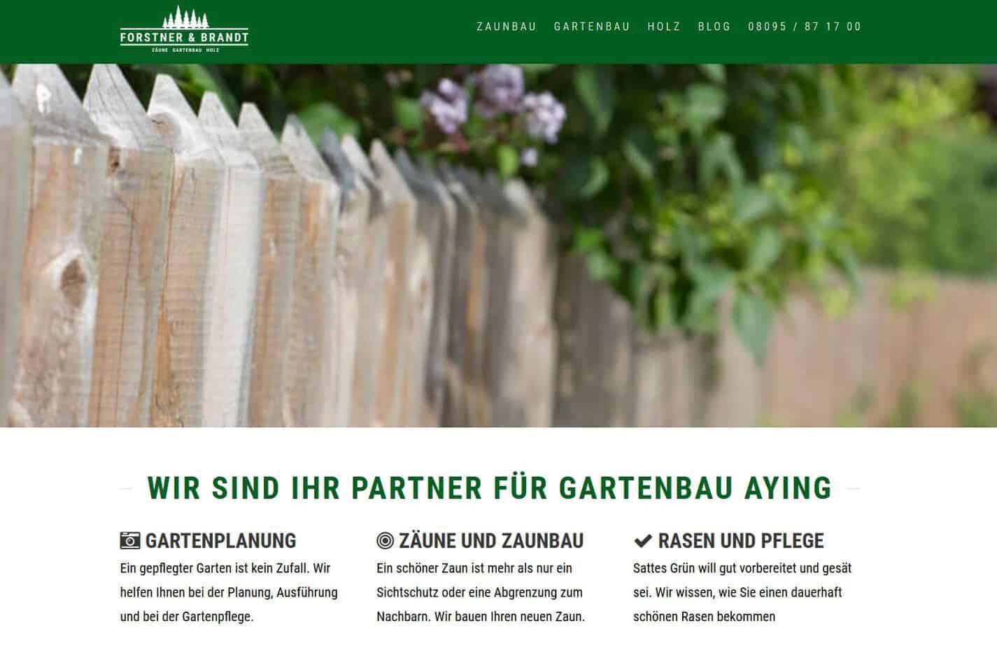 neue Webseite www.forstner-brandt.de webdesign munich
