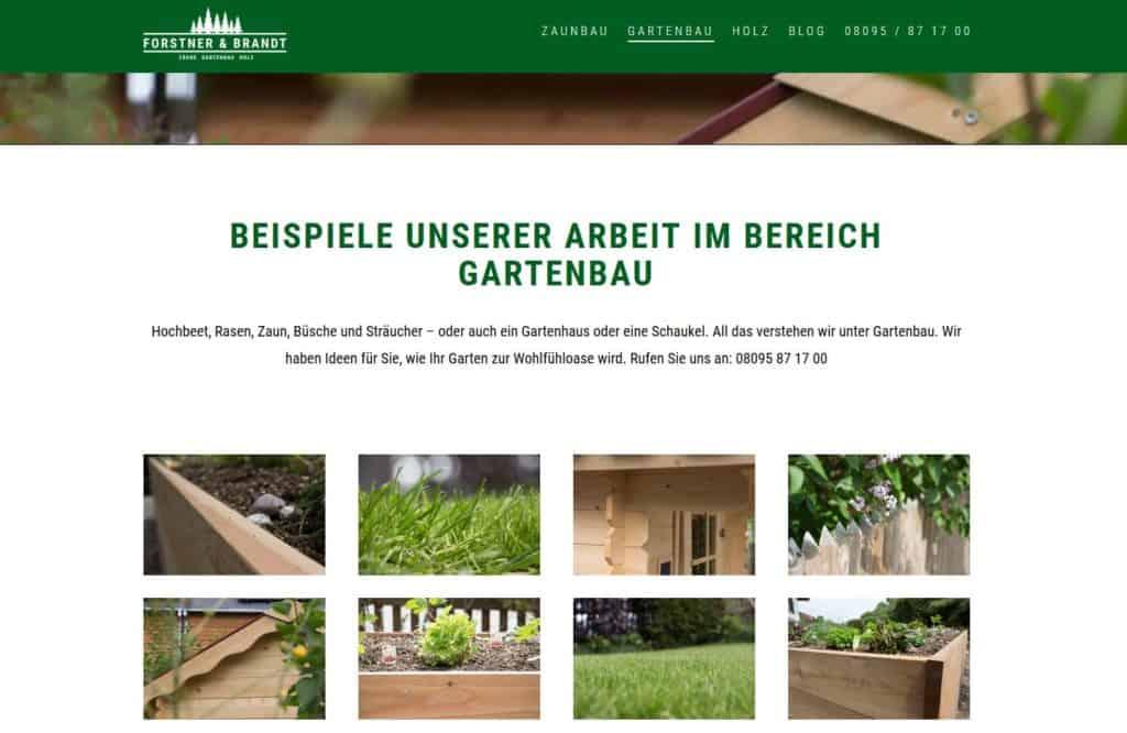 Werbeagentur München neue Webseite www.forstner-brandt.de
