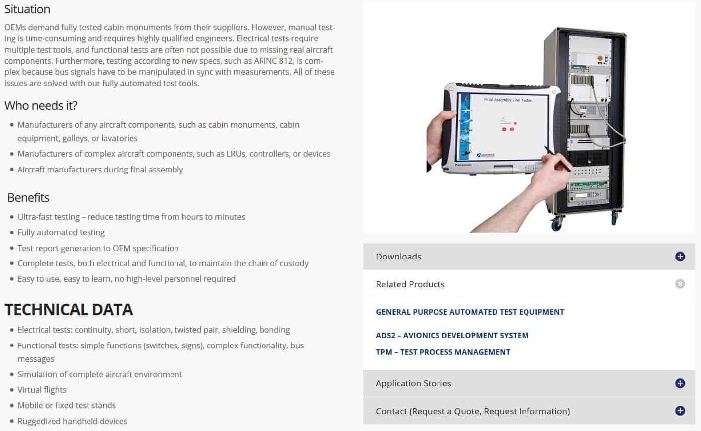 www.techsat.com TechSAT Poing products downloads