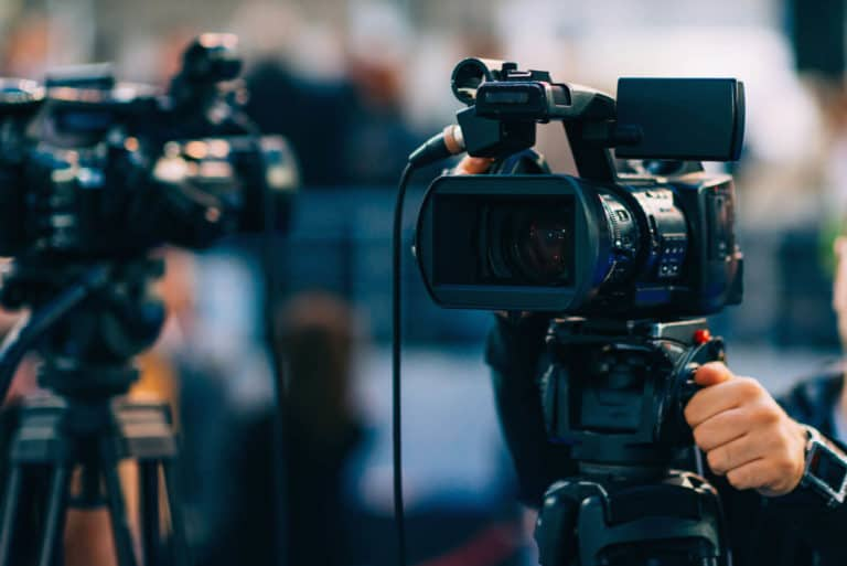Hybride Event Kamera Liveübertragung Livestream München