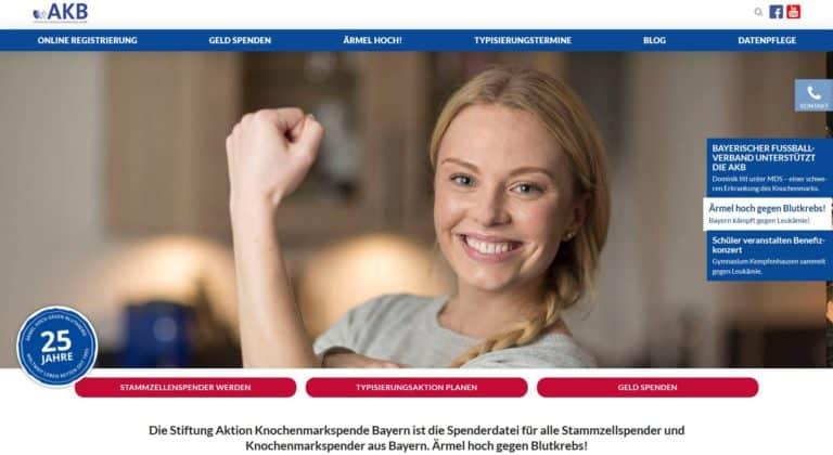 neue webseite stiftung akb responsive bayern