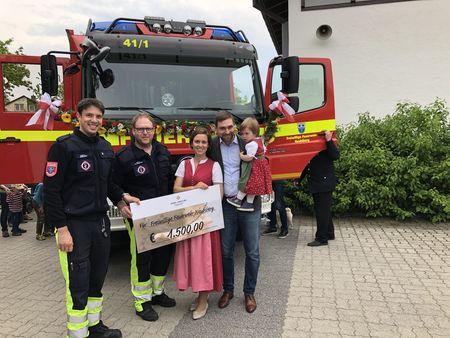 Webdesign Neubiberg spendet an Feuerwehr
