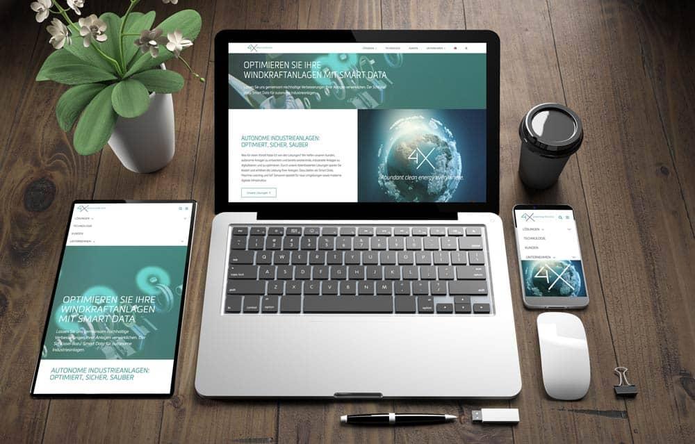 Wordpress Programmierer München Beispiel einer Website