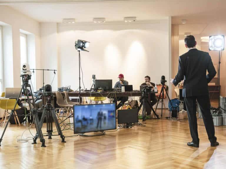 Kanzlei Livestream mit Münchener Livestream Agentur