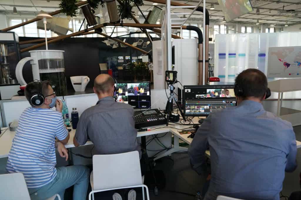 Unsere Livestream Technik im Deutschen Museum