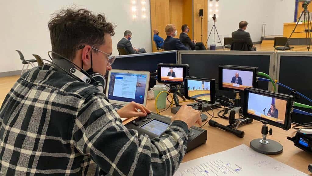 Regie Livestream Gericht Bayern
