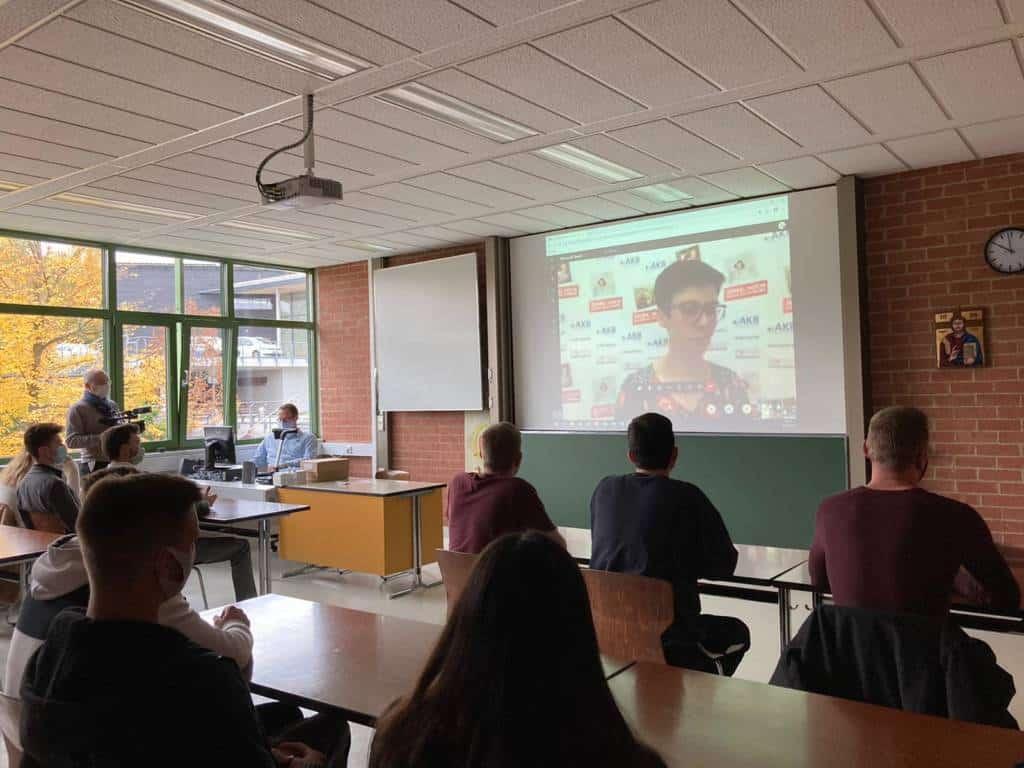 Schule Livestream Webinar